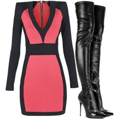 Balmain by carolineas on Polyvore featuring polyvore, fashion, style, Balmain and Alexander McQueen