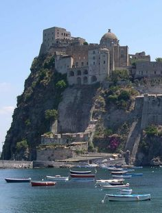 The island of Ischia, Bay of Naples, Italy