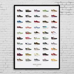 NEED MORE / AIR MAX 1 COLLECTION Print (70 x 100cm)