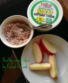 1/4 cup cottage cheese mixed with 1 tbsp PB2