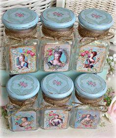 Nádoby - Vintage tea čajovničky - 5974645_