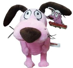 Courage the Cowardly Dog 9'' Soft Toy Plush Cartoon Network http://www.amazon.com/dp/B00IMB7AVG/ref=cm_sw_r_pi_dp_jADKvb1CR815F