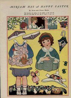 berta and elmer hader paper dolls | Paper Dolls-Articulated