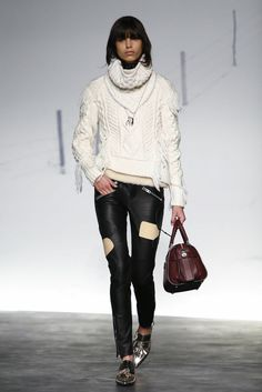 A look from the Coach Fall 2015 RTW collection.