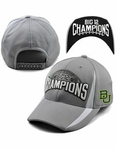Official #Baylor #Big12Champs cap ($30 at Baylor Bookstore)