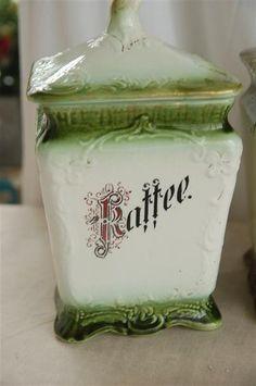 Jugendstil Vorratsdose um 1900 Kaffee | eBay 24,98