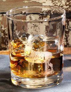 Spode Glen Lodge Whiskey Glas mit Hirsch www.kippax.de/Geschirr/Spode/Spode-Glen-Lodge/