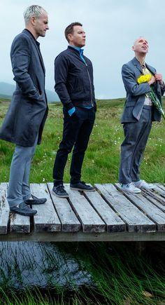 Sick boy, Renton & Spud in T2: Trainspotting (2017)
