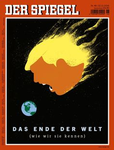 Der Spiegel cover after Donald Trump won US presidential election in 2016