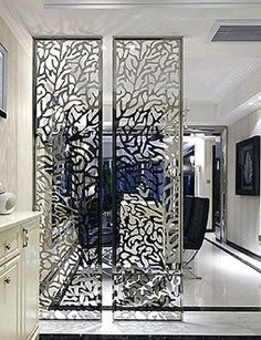 Laser cutting metal screens/decorative panels in China - laser cutting mild steel,stainless steel,aluminium,metal screen Decorative Metal Screen, Decorative Screens, Paneling, Decor, Big Wall Art, Metal Decor, Room Partition Designs, Ceiling Design Bedroom, Decorative Panels