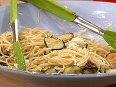 Fried Zuchinni pasta