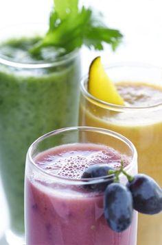 113 Refreshing Smoothie & Green Juice Recipes3 Refreshing Smoothie & Green Juice Recipes