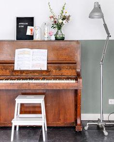 Herrenzimmer: Klavier