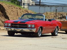 1970 Chevelle convertible. Looks just like my friends... R.I.P John Lapenna, miss you brother...