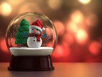 Regali di Natale - le palle di vetro con la neve finta dentro - CheLaVitaContinua