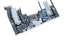 bleuelink - concept interieor design - arial view