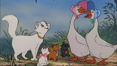 One of the sweetest kid's movies ever made! Aristocats! :)