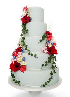 Anna Tyler Cakes   Bristol, UK   Poppy Cake