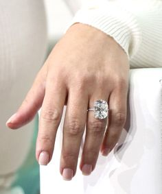 Kim Kardashian Has a New Ring That Looks Exactly Like Her Engagement Ring via @WhoWhatWear