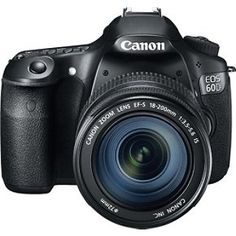 Canon EOS 60D 18 MP CMOS Digital SLR Camera with 3.0-Inch LCD and EF-S 18-200mm f/3.5-5.6 IS Standard Zoom Lens > Price: $1,069.00 > Click on the image for details and offers.