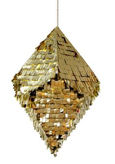crystal gold pinata