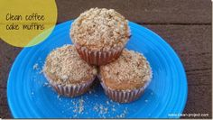 clean coffee cake muffins