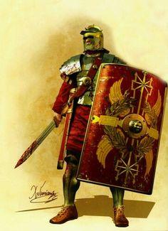 - Legionario romano .Siglo lll a.C. /tcc/