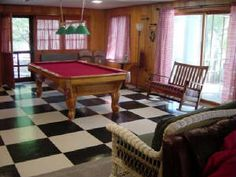 Enjoy a night in at Glendalough in the retro pool room!
