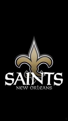 New Orleans Saints - New Orleans Saints New Orleans Saints Logo, New Orleans Saints Football, Team Wallpaper, Mobile Wallpaper, Iphone Wallpaper, Nfl Saints, Harley Quinn Halloween, Sports Wallpapers, Fantasy Football