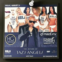 #StLouis here we come!  @tazsangels_ & @DJMadLinx are coming thru Club HG to shut the city down!  #BBLU #Models #Bottles #HipHop #Party #Club #TurnUp #Miami #SouthBeach #Swag