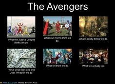 The #Avengers | #Marvel This made me laugh. Especially the bit about Stan Lee and Joss Whedon