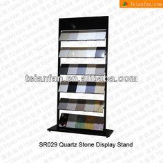 Quartz Stone Display stand rack-SR029