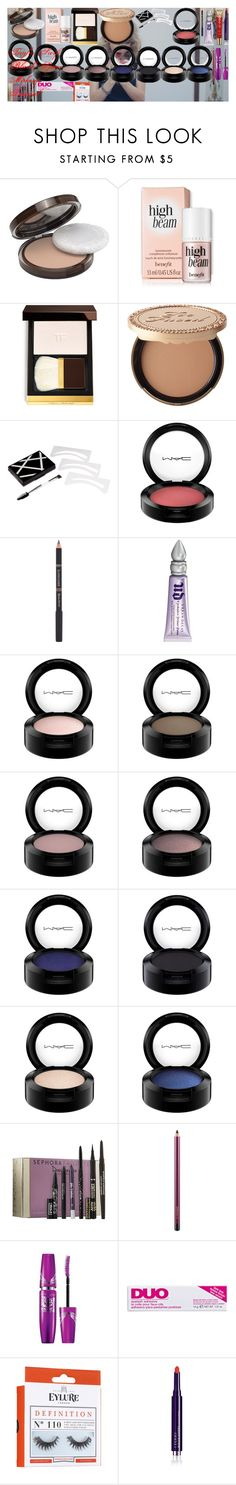 """""""Taylor Swift Blank Space Makeup Tutorial!"""" by oroartye-1 on Polyvore featuring beauty, COVERGIRL, Tom Ford, Too Faced Cosmetics, MAC Cosmetics, L'Oréal Paris, Urban Decay, Sephora Collection, Maybelline and DUO"""