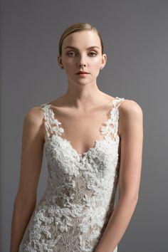 Watters Cinzia gown #watters #wedding #weddingdress www.pinterest.com/wattersdesigns/