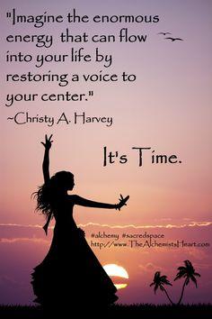 Love Your Center www.TheAlchemistsHeart.com