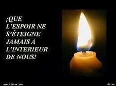 Que l'espoir ne s'eteigne jamais a l'interieur de nous,,,Amen !!!!!!!