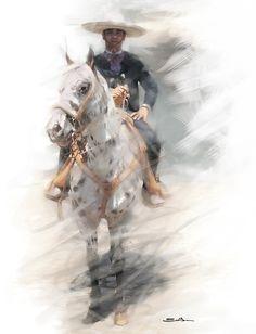 Obra en venta, Graphic art for sale by Emilio Garcia Salazar, via Behance