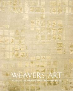 Vinavil in Taupe / Neutral Area Rug | Silk and Wool Rugs | Contemporary Rugs - Weavers Art