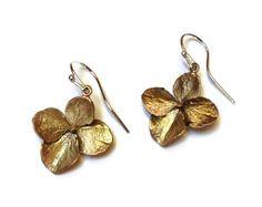 Silver Seasons - Michael Michaud - Hydrangea Earrings. Schomburg's Jewelers