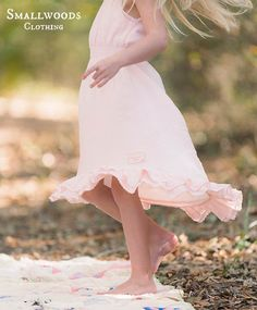 Smallwoods Pink Spring Hi-Low Dress