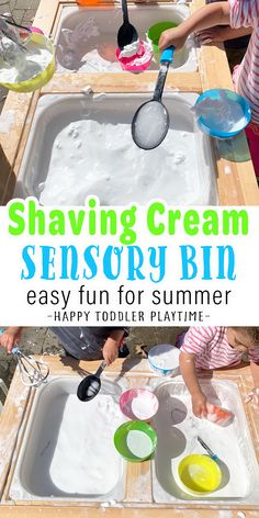 Summer Activities For Toddlers, Sensory Activities Toddlers, Sensory Bins, Infant Activities, Sensory Play, Fun Activities, Baby Sensory, Outdoor Activities, Play Based Learning
