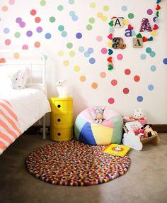 Baby room walls