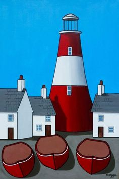 Buy Big Red 36 x 24 ins, Acrylic painting by Paul Bursnall on Artfinder. Discover thousands of other original paintings, prints, sculptures and photography from independent artists.