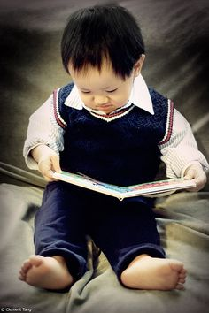 Nothing so endearing like a child reading!!
