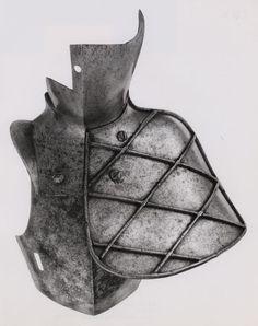 German, Augsburg    Reinforcing Pieces for Tilt, 1560    Steel  - Art Institute of Chicago
