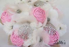 maravilloso #ramodenoviadetela hecho a mano y persinalizado #wedding #bouquet #novias #bodas