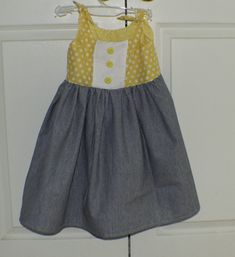 Toddlers-Sun-Dress-275x300 Easy to Make Adorable Toddler Dress