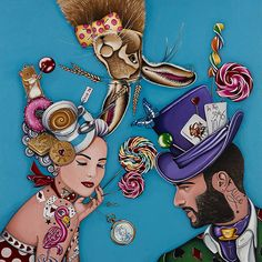 The Hatter's Tea Party   Limited Edition of 45 & 5 Artist Proofs