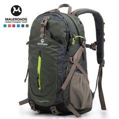 Top quality Maleroads Hiking Backpack Travel Daypack Outdoor Sport  Waterproof Backpack Camp Pack Trekk Rucksack Men Women 40L afa9a47032ff5