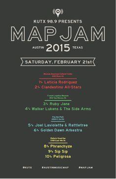 MapJam 2015 w/ Phranchyze, Sip Sip, Peligrosa in Austin at